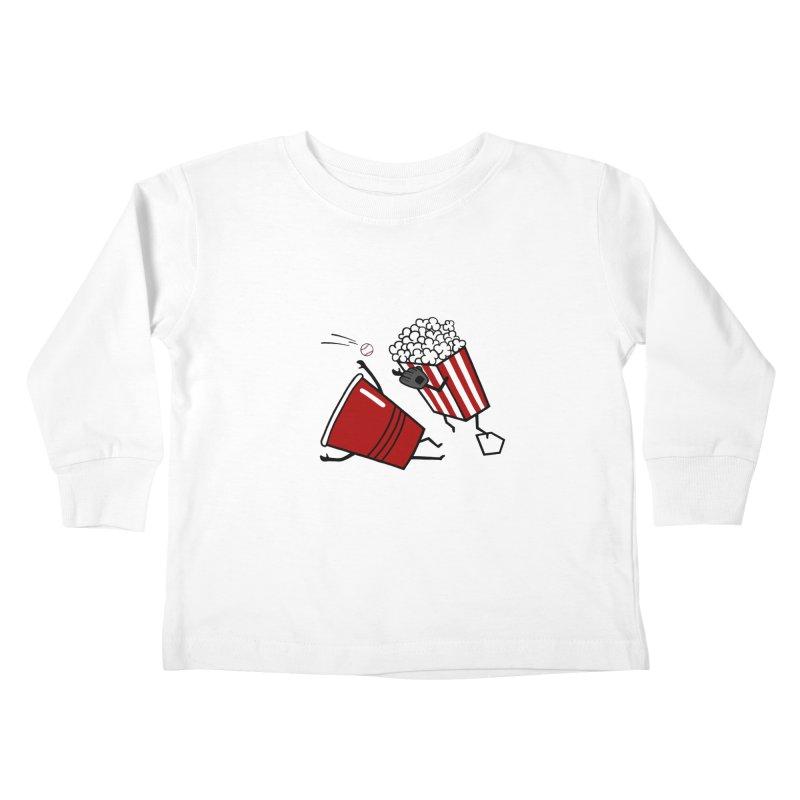 OOPS 3 Kids Toddler Longsleeve T-Shirt by YaaH
