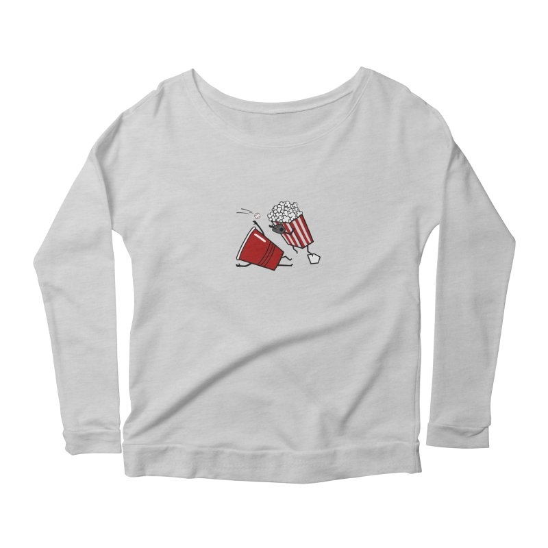 OOPS 3 Women's Scoop Neck Longsleeve T-Shirt by YaaH