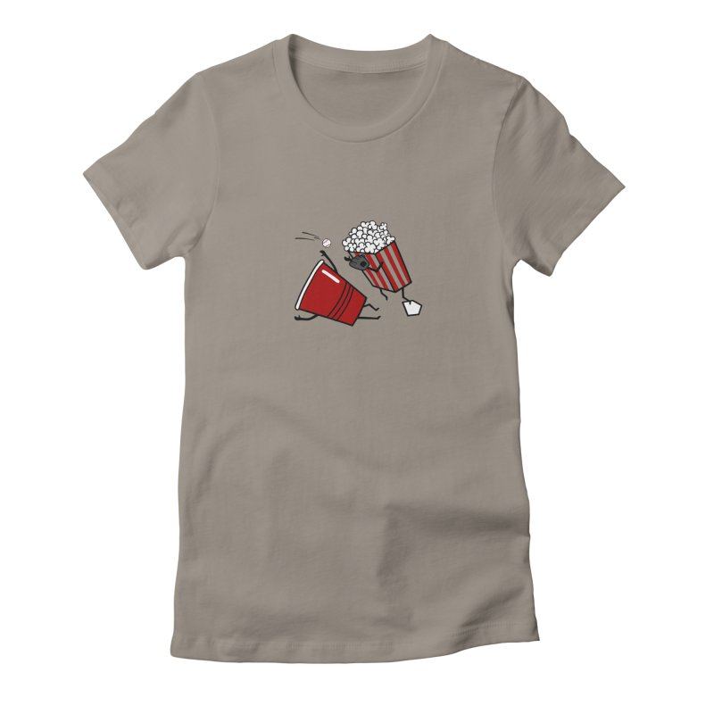 OOPS 3 Women's Fitted T-Shirt by YaaH