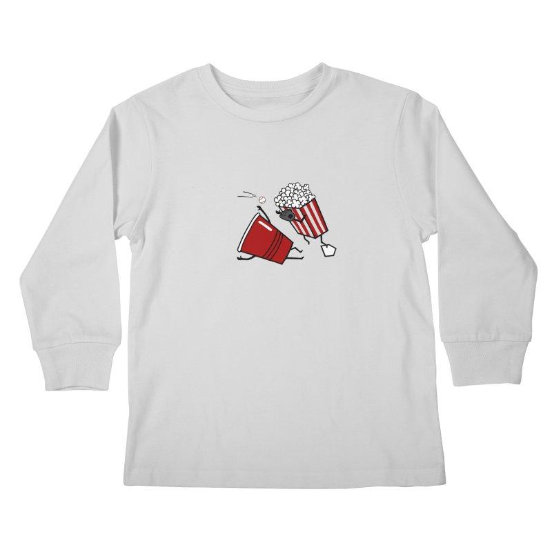 OOPS 3 Kids Longsleeve T-Shirt by YaaH