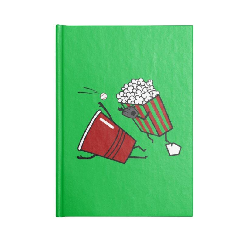 OOPS 3 Accessories Blank Journal Notebook by YaaH
