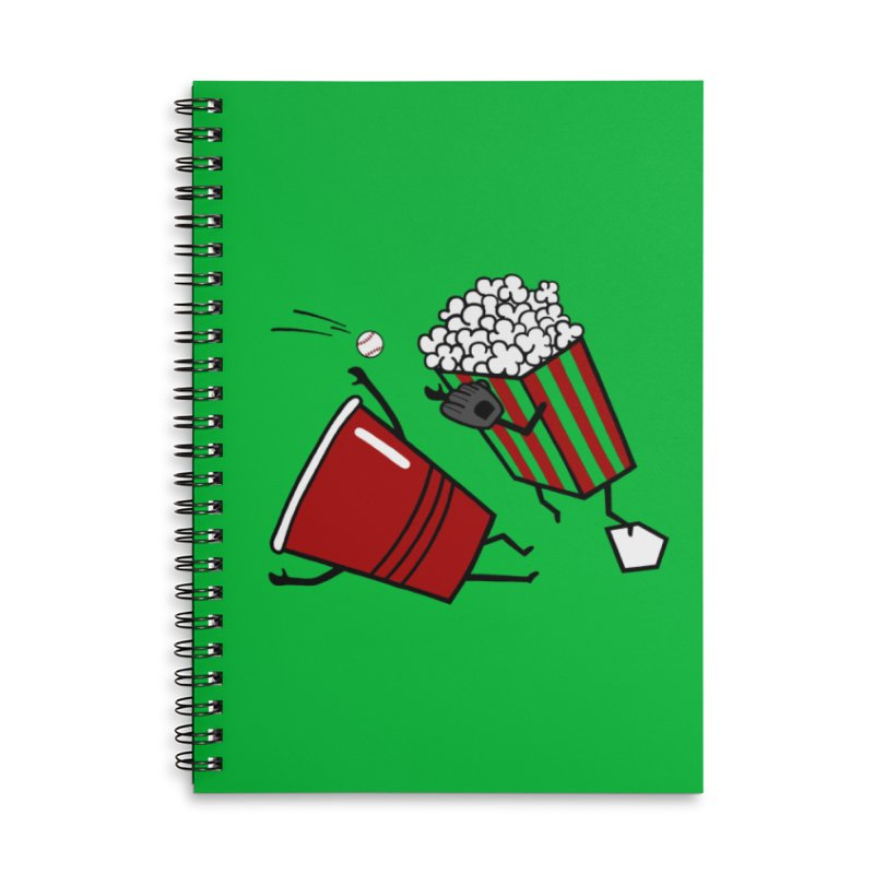 OOPS 3 Accessories Lined Spiral Notebook by YaaH