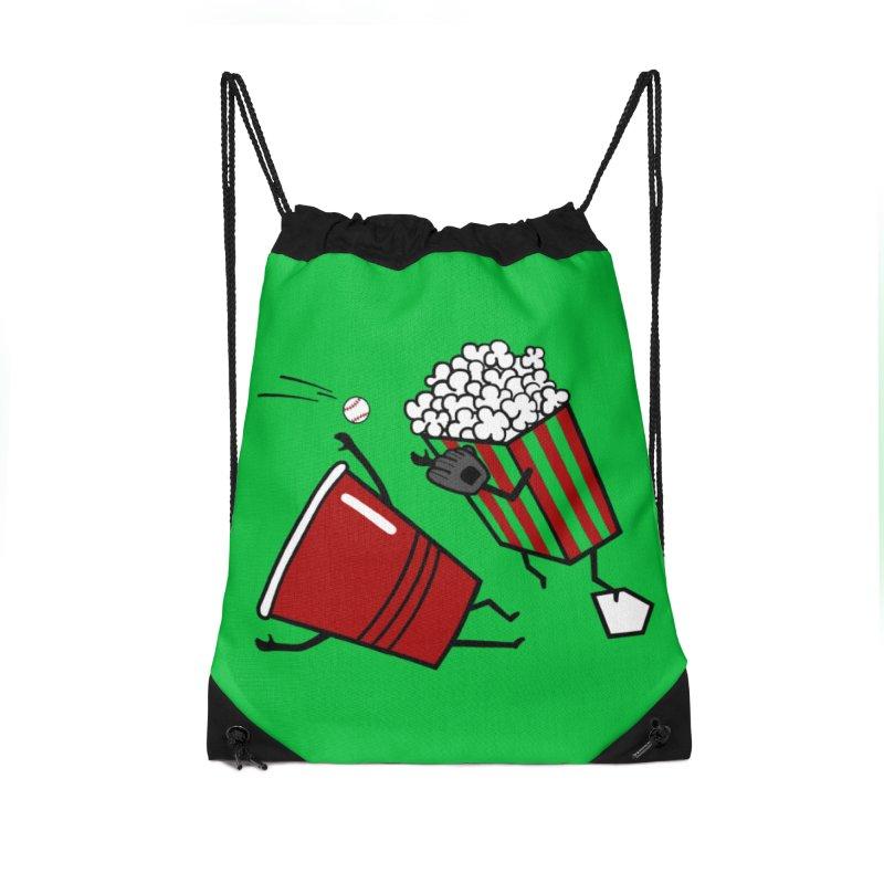 OOPS 3 Accessories Drawstring Bag Bag by YaaH