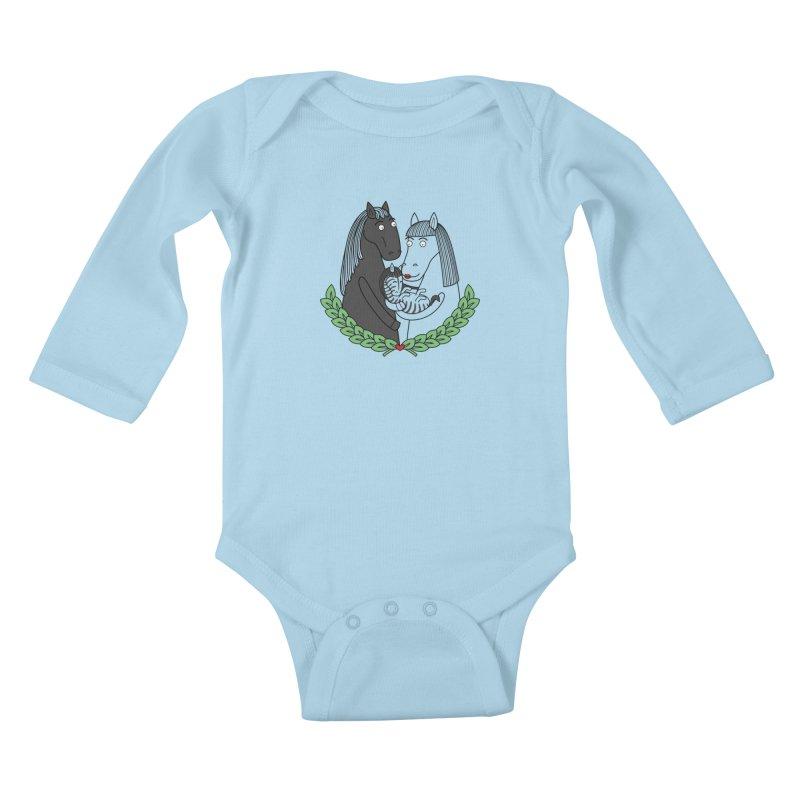We did it Kids Baby Longsleeve Bodysuit by YaaH