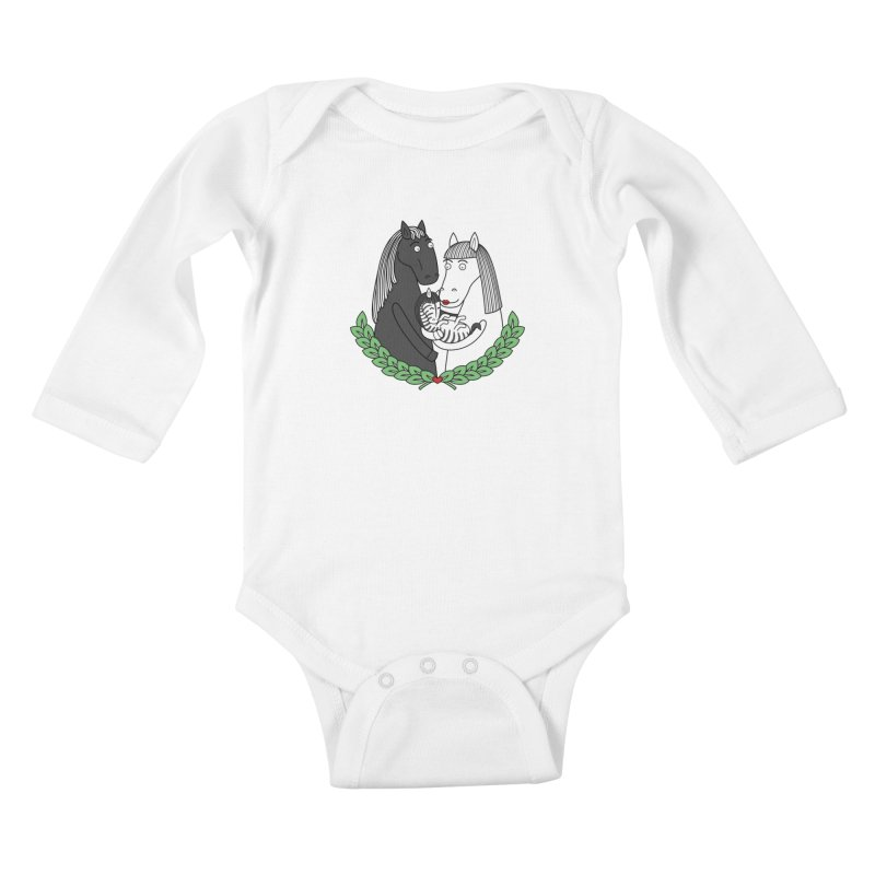 We did it Kids Baby Longsleeve Bodysuit by YaaH