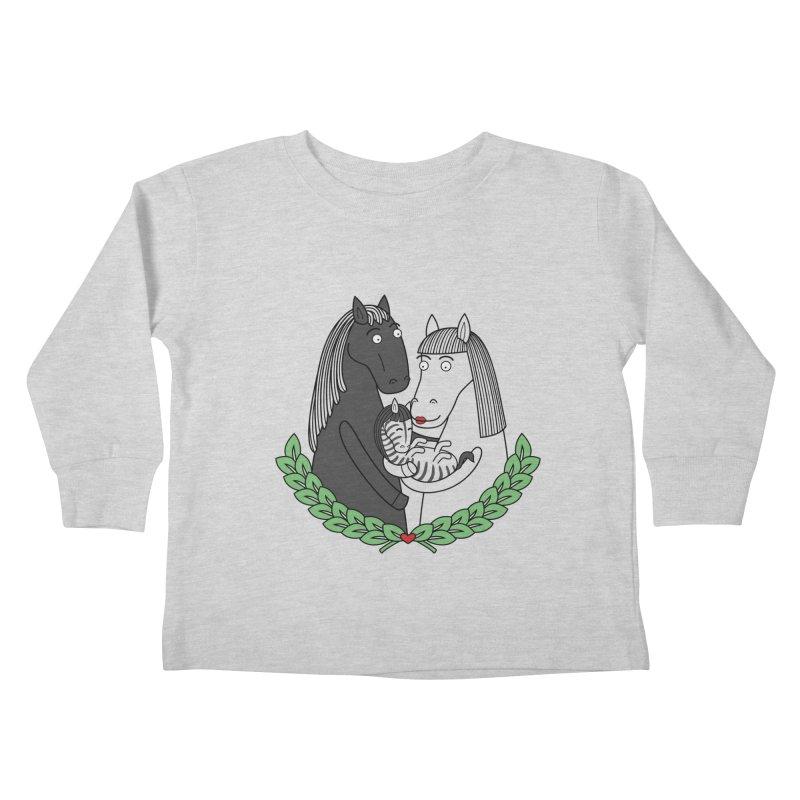 We did it Kids Toddler Longsleeve T-Shirt by YaaH