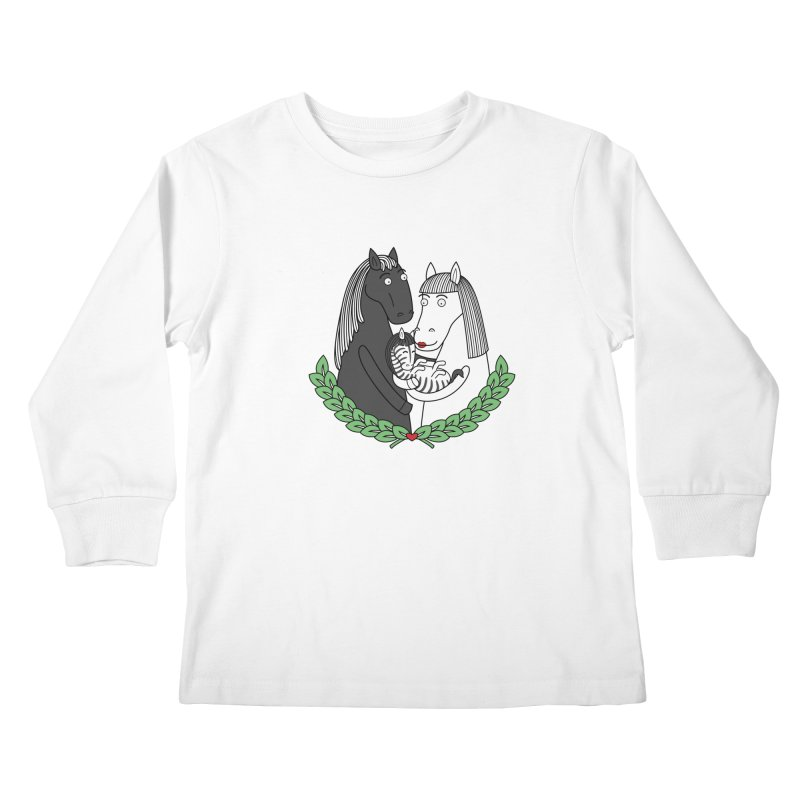 We did it Kids Longsleeve T-Shirt by YaaH