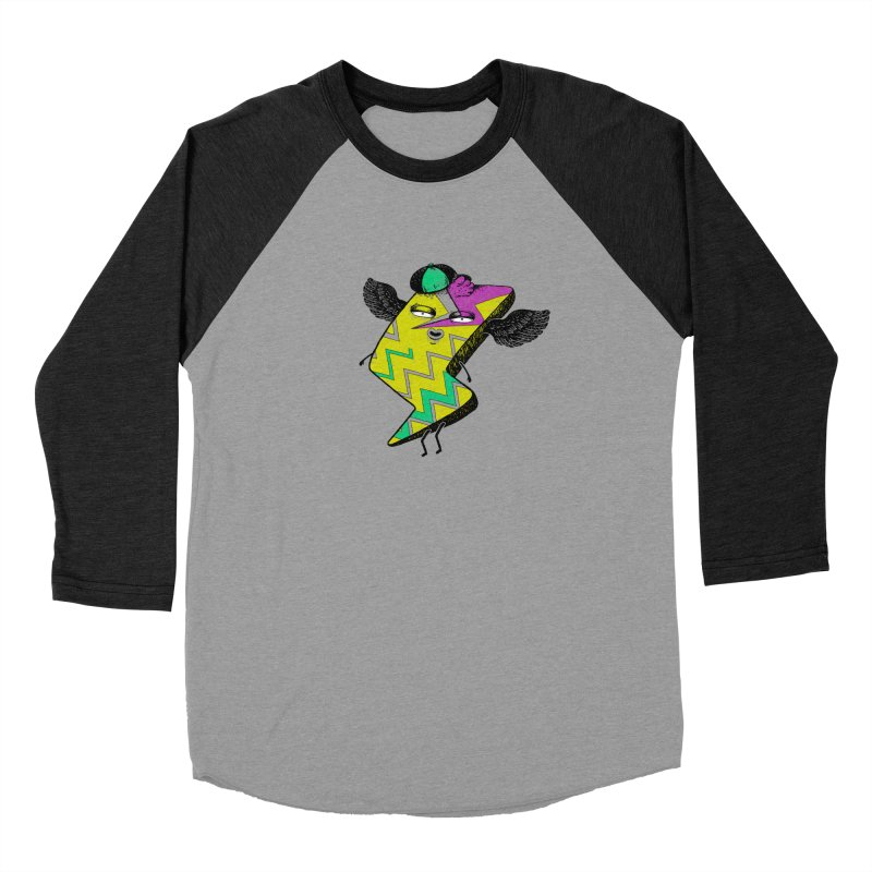 Zigkizag Men's Baseball Triblend T-Shirt by YaaH