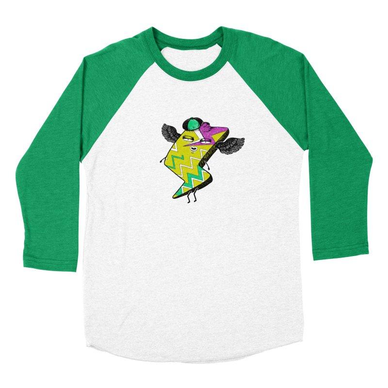 Zigkizag Men's Baseball Triblend Longsleeve T-Shirt by YaaH