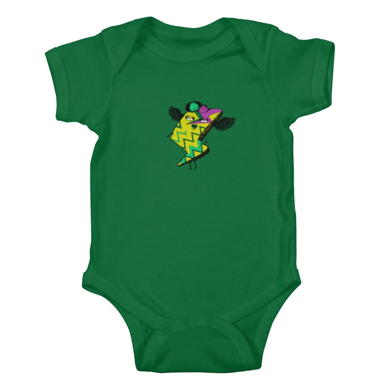Zigkizag Kids Baby Bodysuit by YaaH