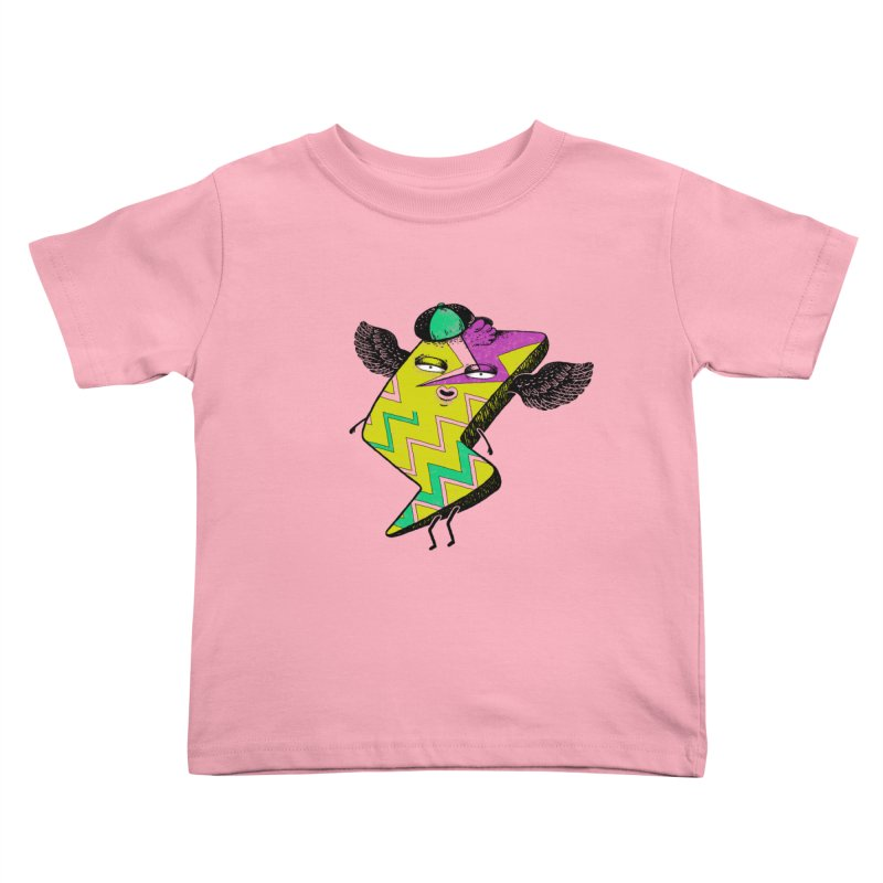 Zigkizag Kids Toddler T-Shirt by YaaH