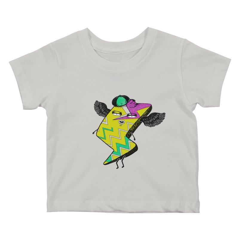 Zigkizag Kids Baby T-Shirt by YaaH