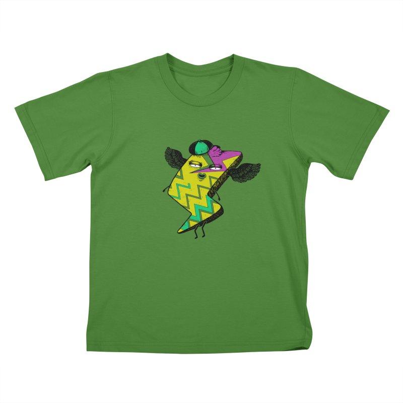 Zigkizag Kids T-shirt by YaaH