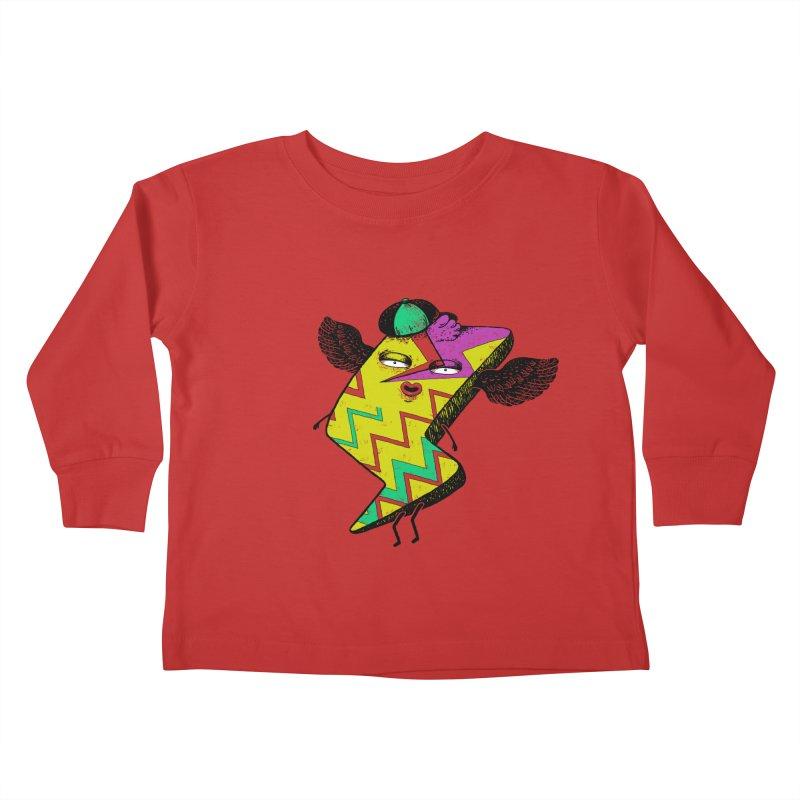 Zigkizag Kids Toddler Longsleeve T-Shirt by YaaH