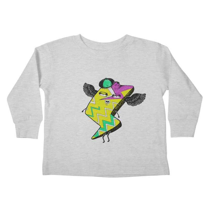 Zigkizag Kids Toddler Longsleeve T-Shirt by YaaH