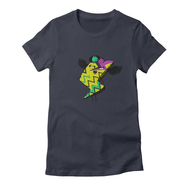 Zigkizag Women's Fitted T-Shirt by YaaH