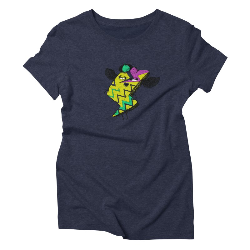 Zigkizag Women's Triblend T-Shirt by YaaH