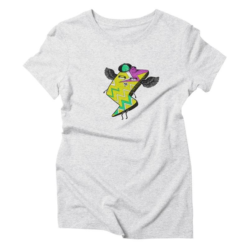 Zigkizag Women's Triblend T-Shirt by YaaH