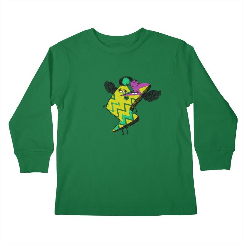 Zigkizag Kids Longsleeve T-Shirt by YaaH