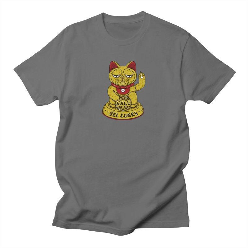 Lucky Cat Men's T-Shirt by YaaH