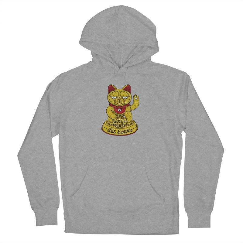Lucky Cat Women's Pullover Hoody by YaaH