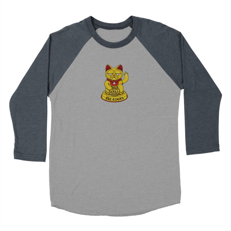 Lucky Cat Women's Longsleeve T-Shirt by YaaH