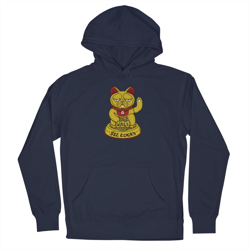 Lucky Cat Women's Pullover Hoody by YaaH