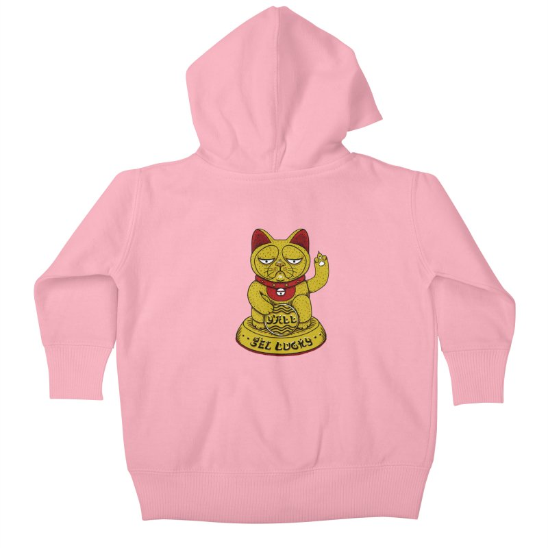 Lucky Cat Kids Baby Zip-Up Hoody by YaaH