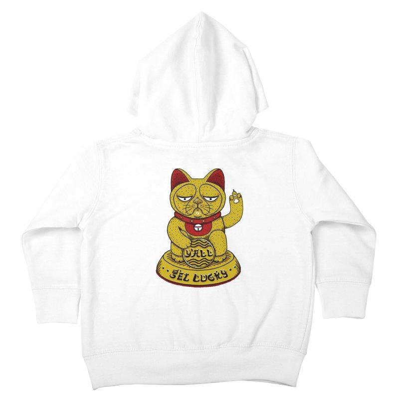 Lucky Cat Kids Toddler Zip-Up Hoody by YaaH