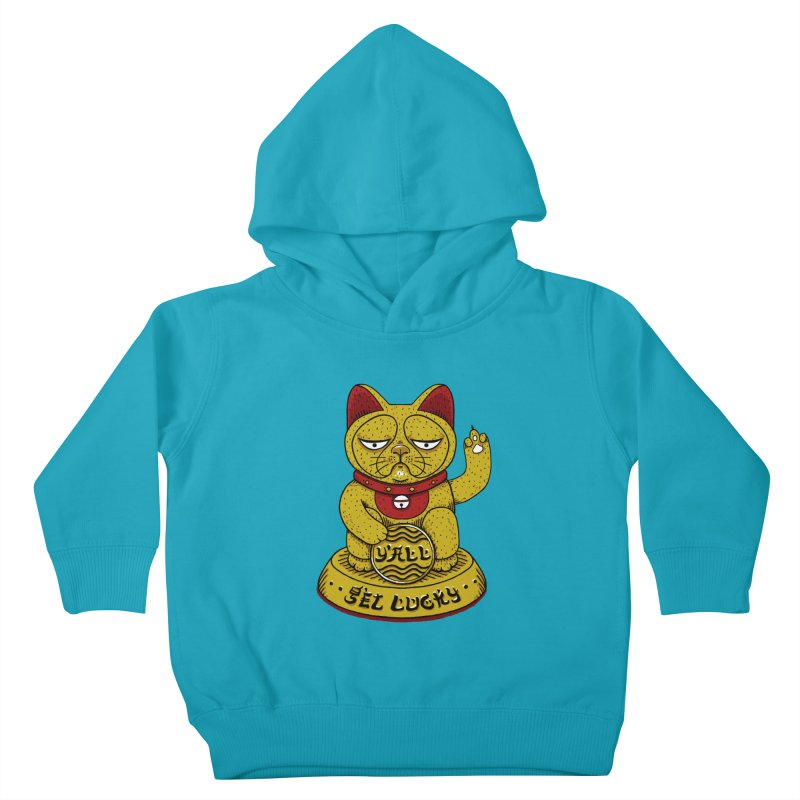 Lucky Cat Kids Toddler Pullover Hoody by YaaH