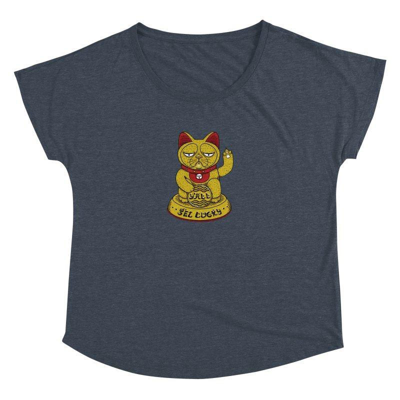 Lucky Cat Women's Dolman by YaaH