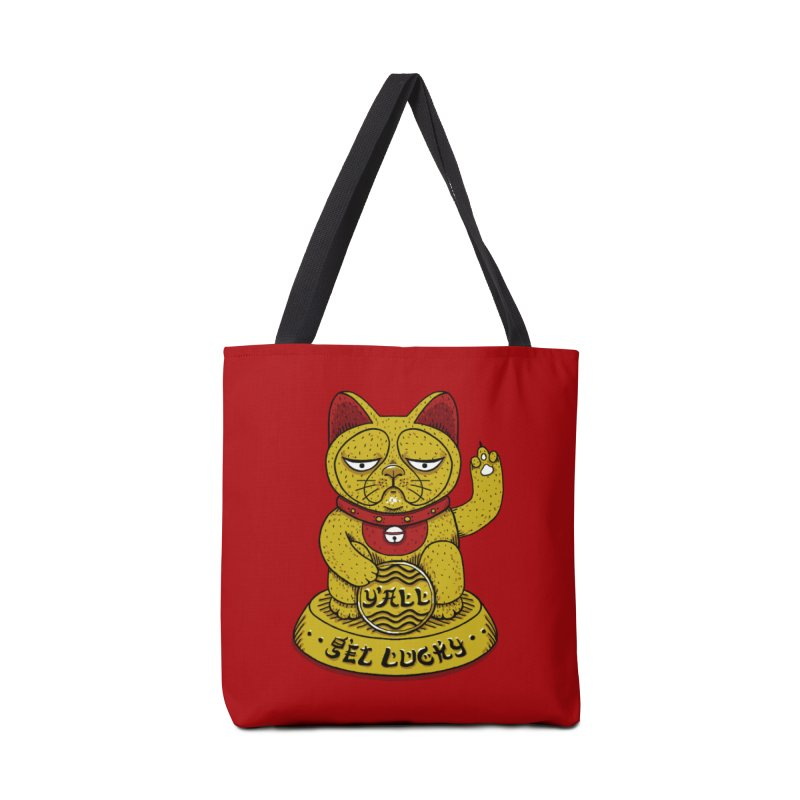 Lucky Cat Accessories Bag by YaaH