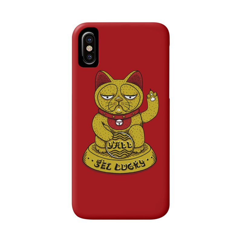 Lucky Cat Accessories Phone Case by YaaH