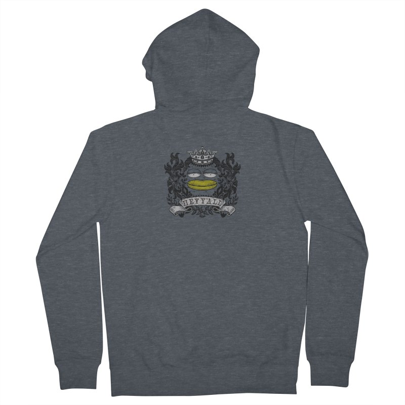 HEY Y'ALL Women's French Terry Zip-Up Hoody by YaaH