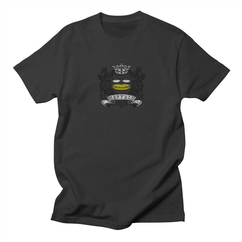 HEY Y'ALL Men's Regular T-Shirt by YaaH