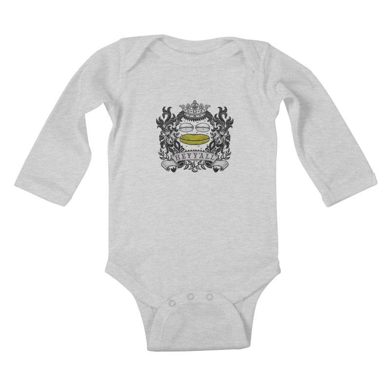 HEY Y'ALL Kids Baby Longsleeve Bodysuit by YaaH