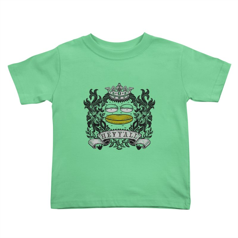 HEY Y'ALL Kids Toddler T-Shirt by YaaH