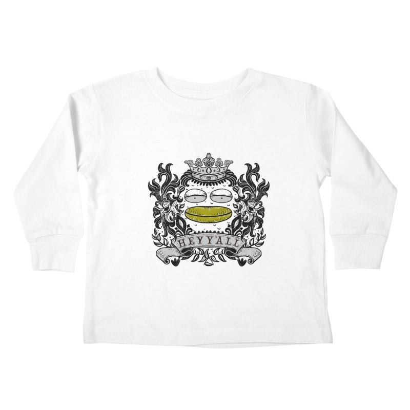 HEY Y'ALL Kids Toddler Longsleeve T-Shirt by YaaH