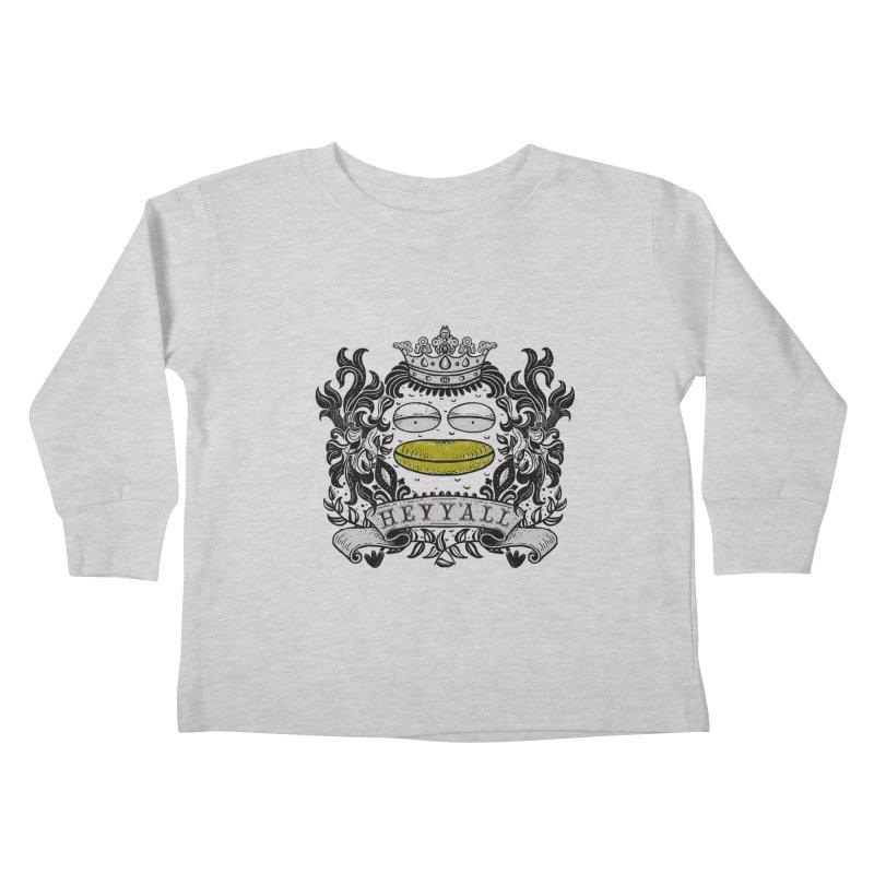 HEY Y'ALL Kids Toddler Longsleeve T-Shirt by YaaH