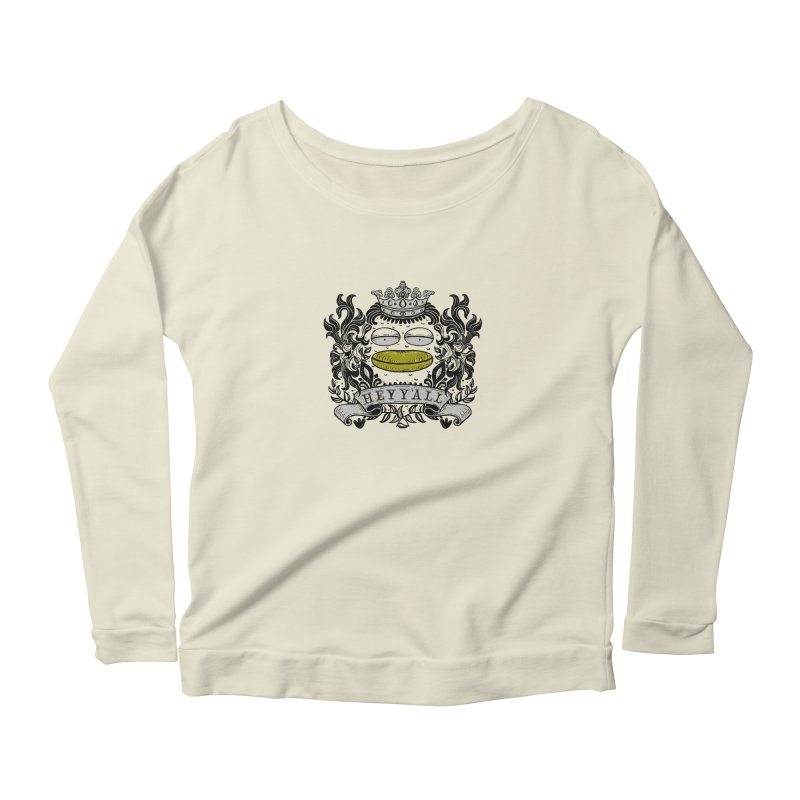 HEY Y'ALL Women's Longsleeve Scoopneck  by YaaH
