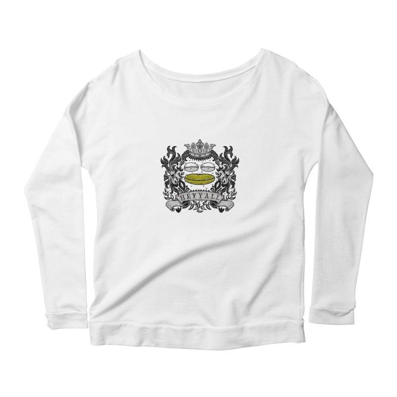 HEY Y'ALL Women's Scoop Neck Longsleeve T-Shirt by YaaH