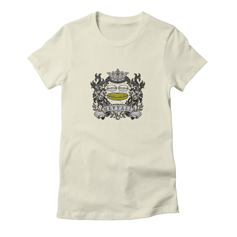 HEY Y'ALL Women's Fitted T-Shirt by YaaH
