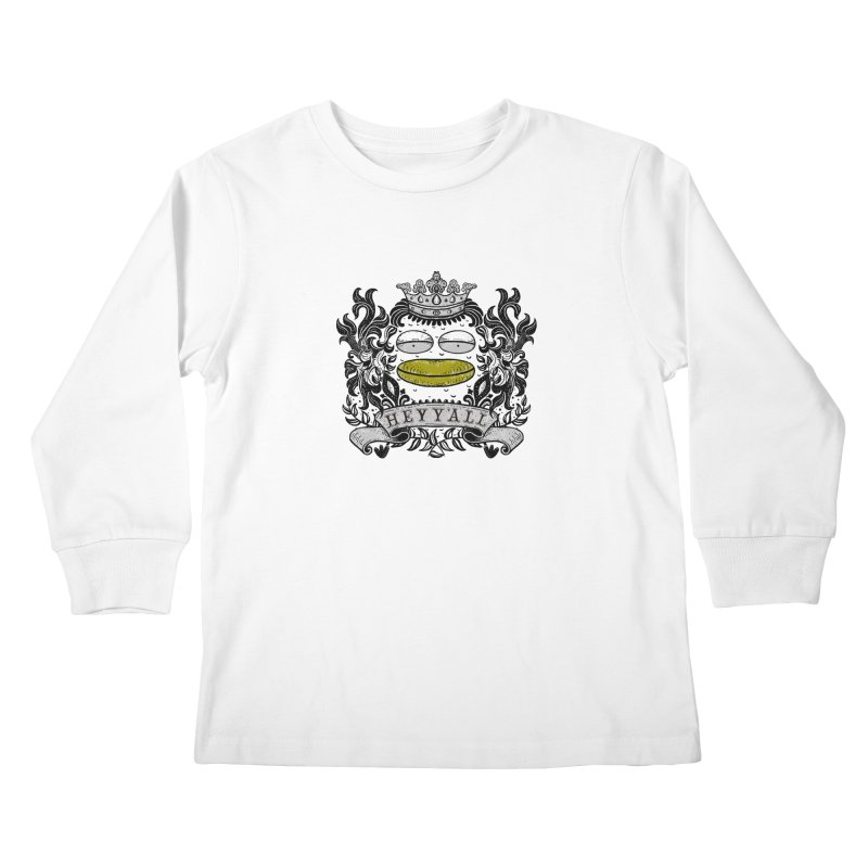 HEY Y'ALL Kids Longsleeve T-Shirt by YaaH