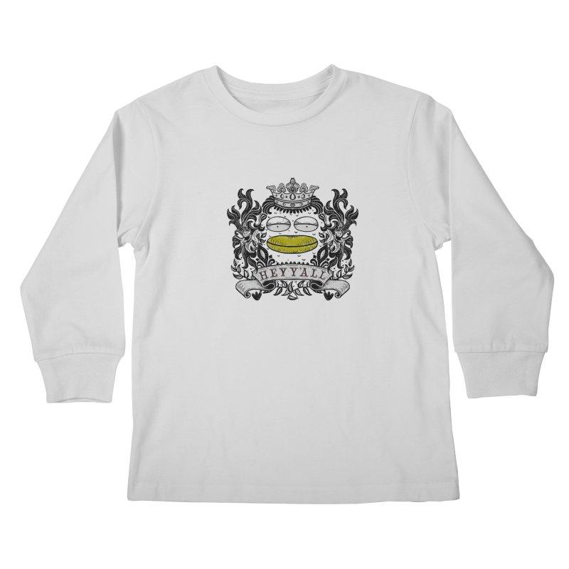 HEY Y'ALL Kids Longsleeve T-Shirt by YaaH
