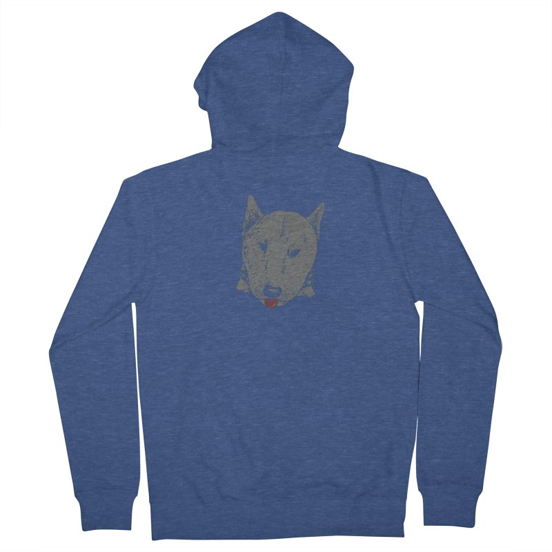 Stick Your Tongue Out Men's French Terry Zip-Up Hoody by YaaH