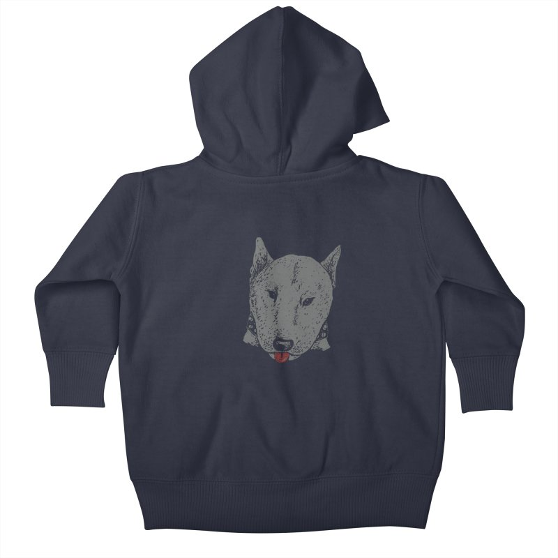 Stick Your Tongue Out Kids Baby Zip-Up Hoody by YaaH