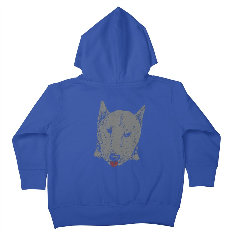Stick Your Tongue Out Kids Toddler Zip-Up Hoody by YaaH