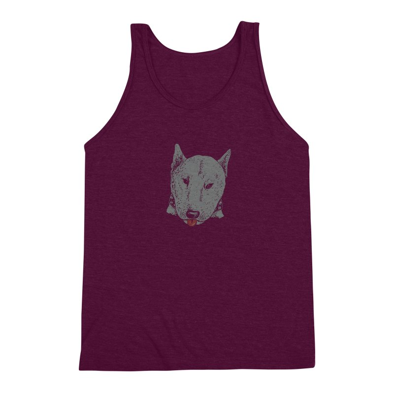 Stick Your Tongue Out Men's Triblend Tank by YaaH