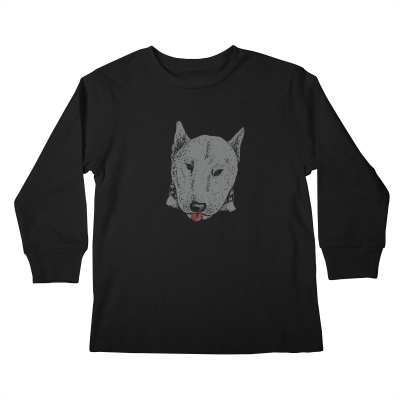 Stick Your Tongue Out Kids Longsleeve T-Shirt by YaaH