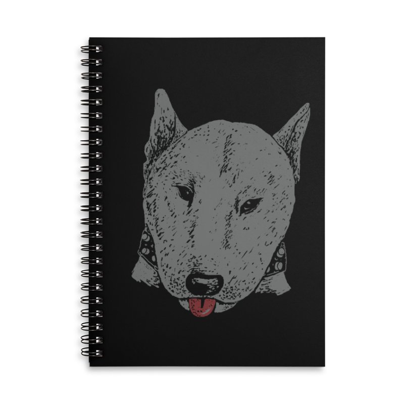Stick Your Tongue Out Accessories Lined Spiral Notebook by YaaH